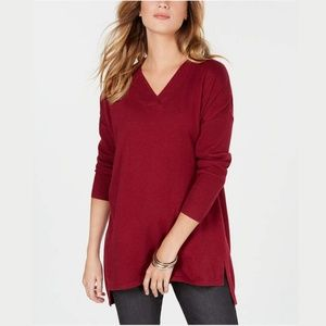 NWT Style & Co High-low Over-sized Tunic Top